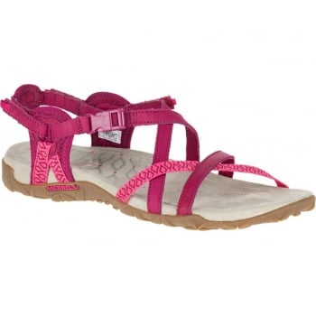 Merrell Terran Lattice II Fuchsia (N23) J55310 Ladies Sandal
