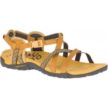 Merrell Terran Lattice II Gold (Z159) J001052 Ladies Sandal