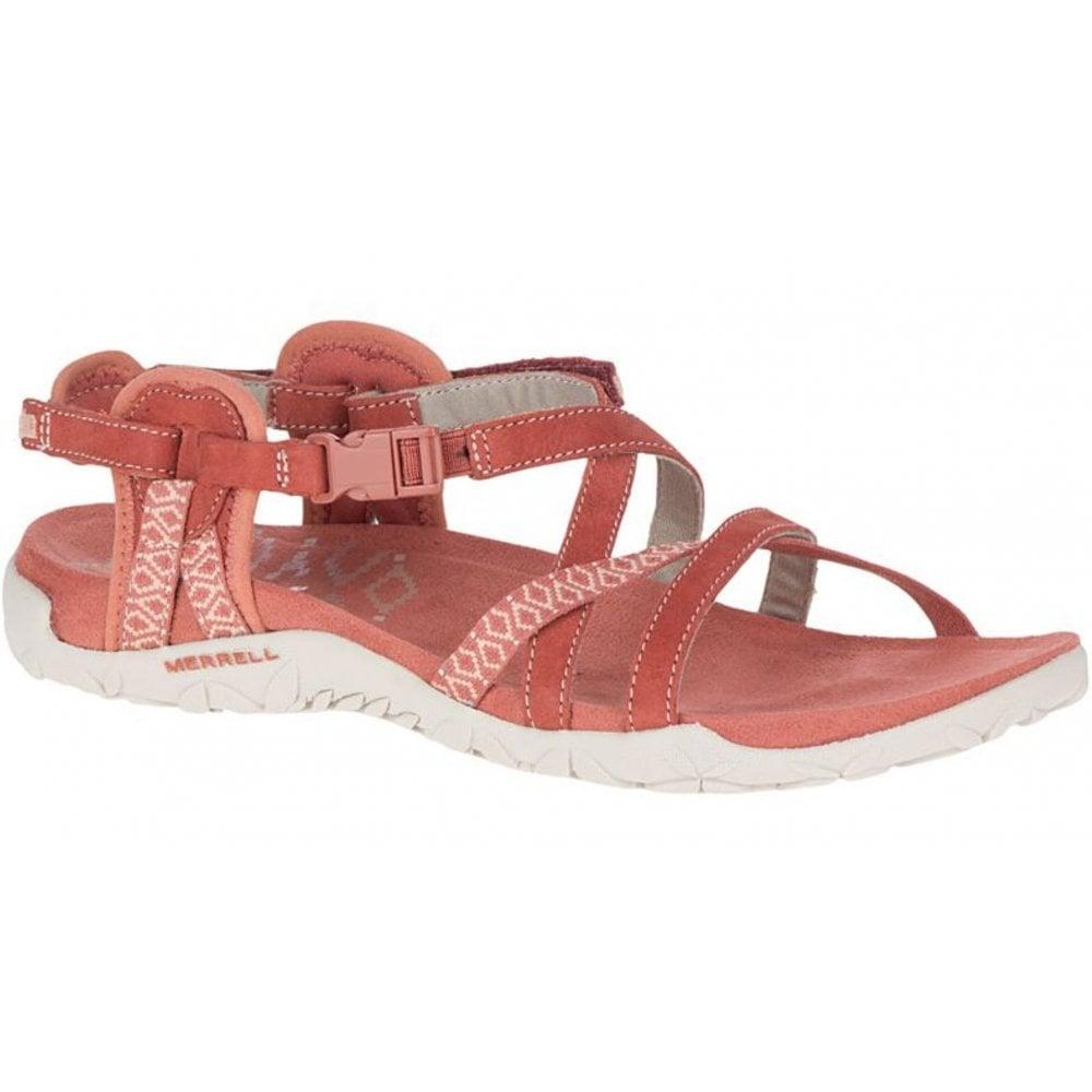 b1745eda1054 Merrell Merrell Terran Lattice II Redwood (N58) J90570 Ladies Sandal ...