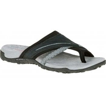 Merrell Terran Post II Black (K6) J55328 Ladies Sandal