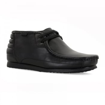 Nicholas Deakins Marshal Leather Black (N91) Mens Midi Boots