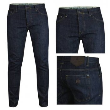 Nicholas Deakins Hulk Indigo Denim Regular Fit Mens Jeans