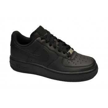 Nike Air Force 1 Lo Older Boys Black (N75) 314192-009 Trainers