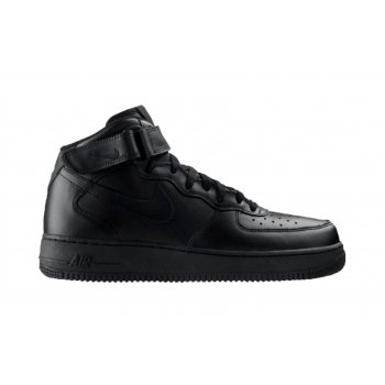 Nike Air Force 1 Mid '07 Black / Black (N53 / Z7) 315123-001 Mens Trainers
