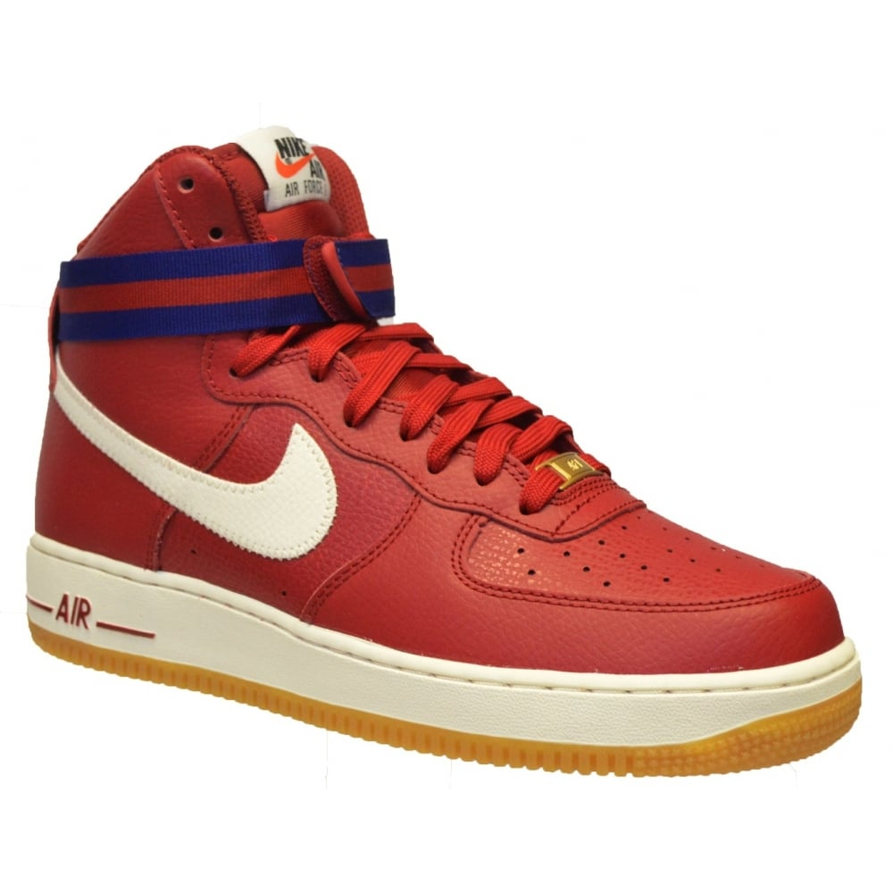 Nike Air Force 1 Mid  07 Gym Red   Blue Royal (C6) 315121-605 Mens Trainers f7e98ee33b
