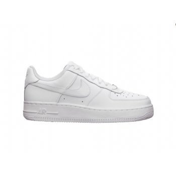 Nike Air Force 1 Older Boys (314192 117) White Low (F7) Trainers