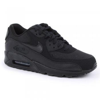 Nike Air Max 90 Essential Black / Black (C6) 537384-090 Mens Trainers