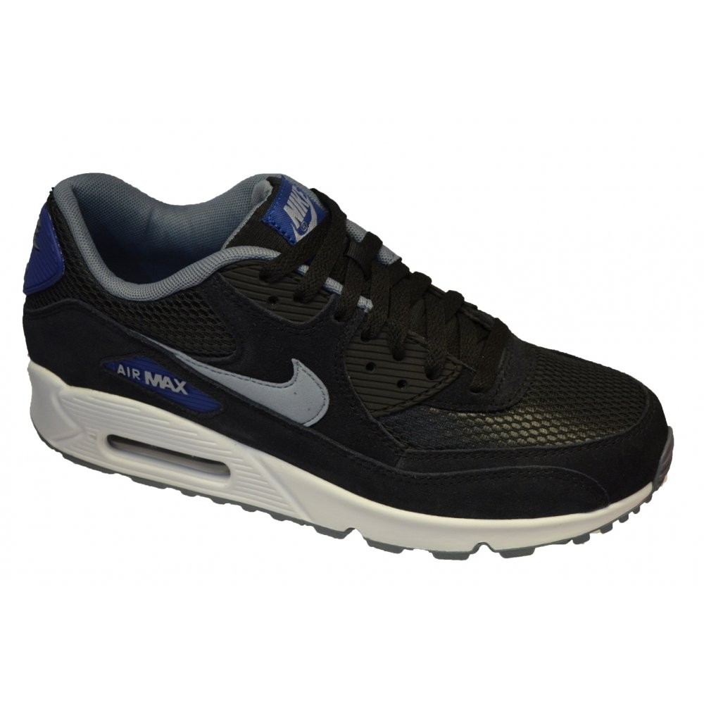 guión Sentimiento de culpa Caracterizar  Nike Nike Air Max 90 Essential Black / Grey / White (N95) 537384-041 Mens  Trainers - Nike from Pure Brands UK UK