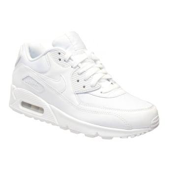 Nike Air Max 90 Essential White / White (N85) 537384-111 Mens Trainers
