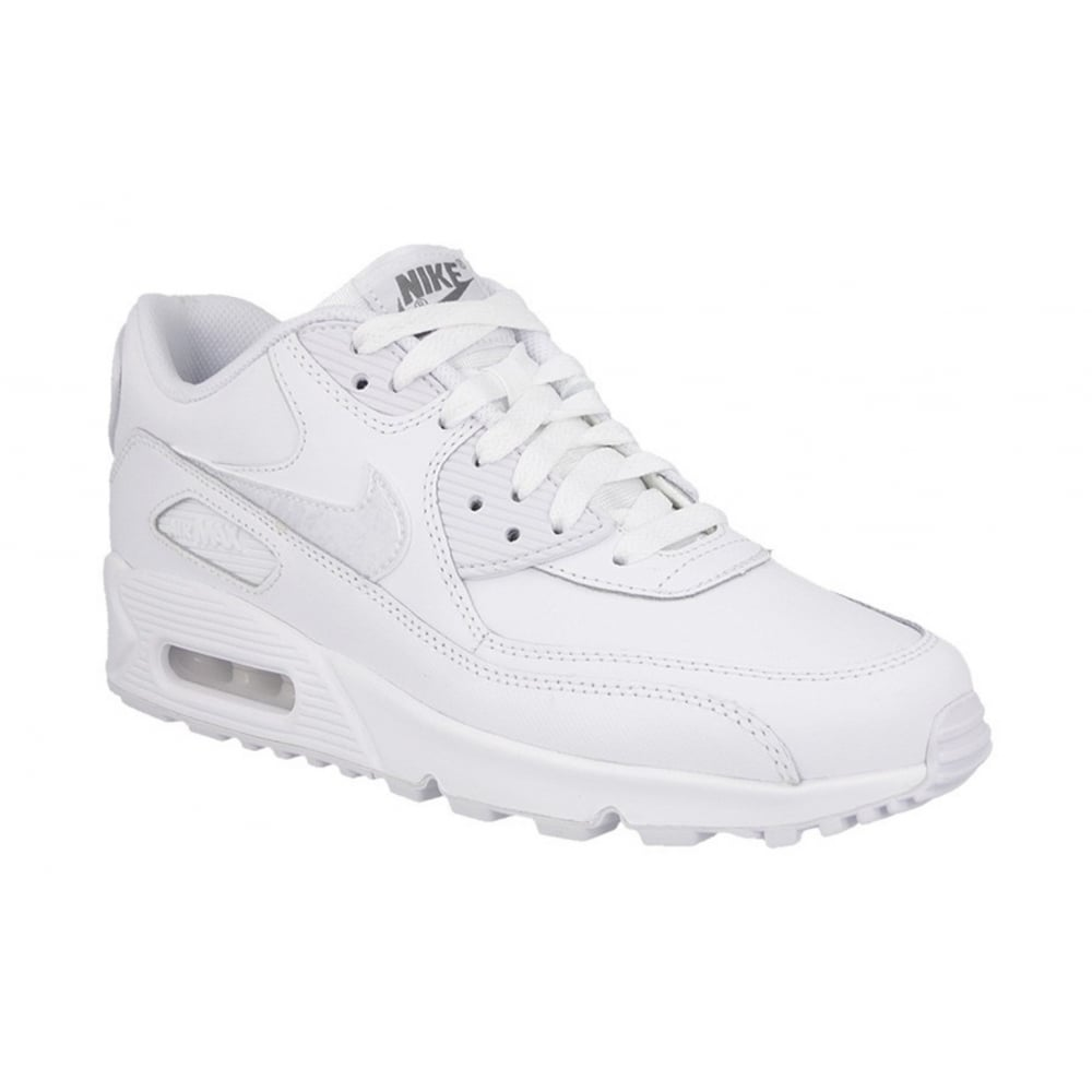 6a0c6b8842f514 Nike Nike Air Max 90 Leather True White (SC-D3) 302519-113 Mens ...