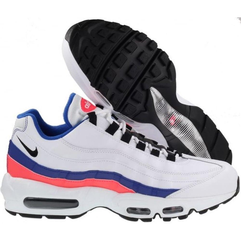 reputable site 6ca6c 4a3bb ... Nike Air Max 95 Essential White-Black-Solar Red (K2) 749766- ...