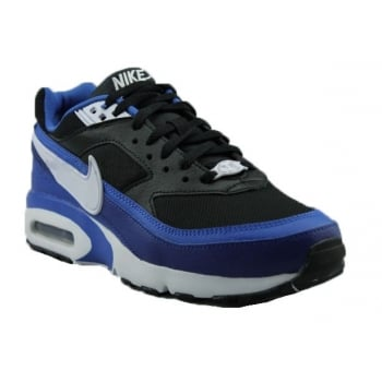 Nike Air Max BW (GS) Black / White-GM Royal (N75) 820344-002 Older Boys Trainers