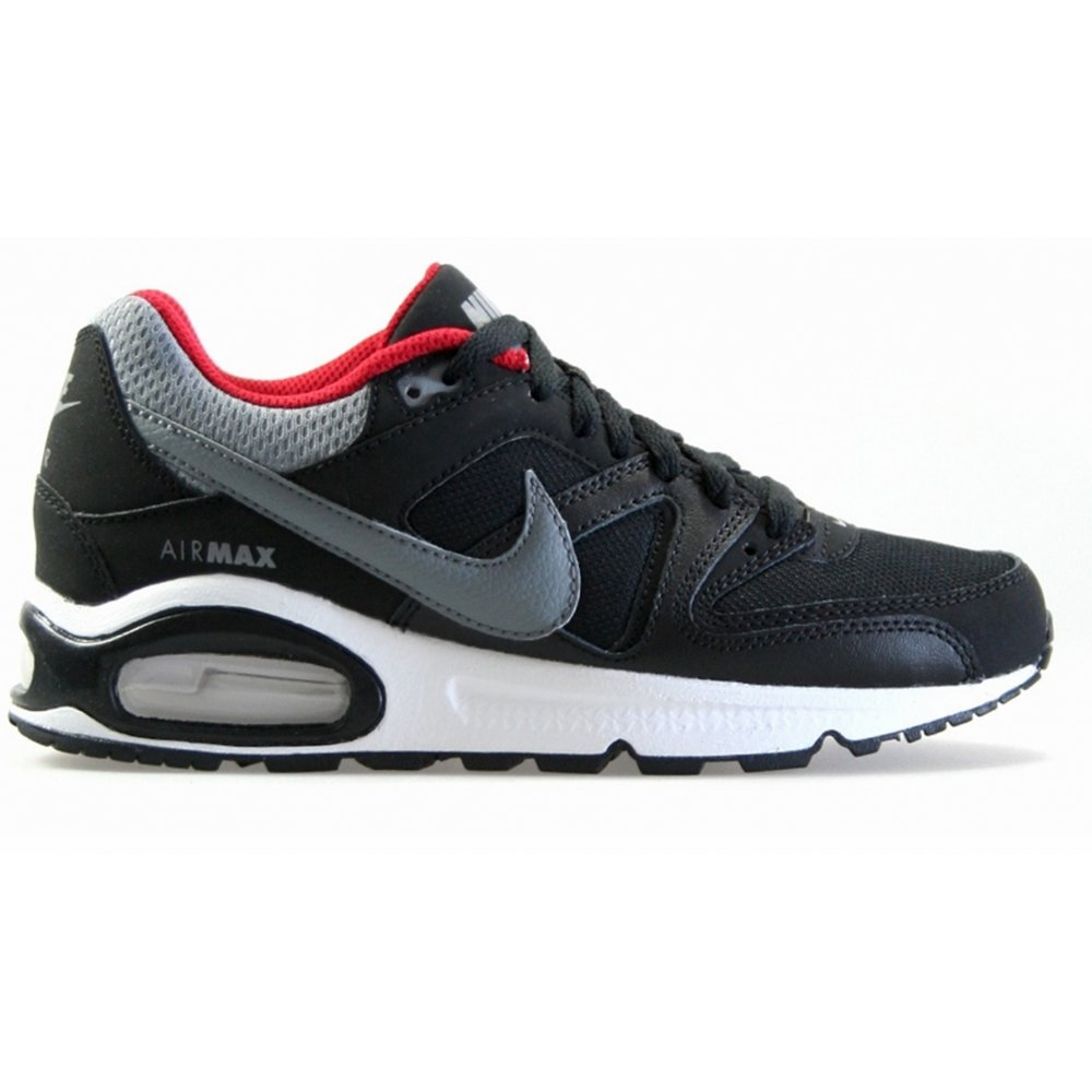 Nike Nike Air Max Command (GS) Black Cool Grey Red (GD2