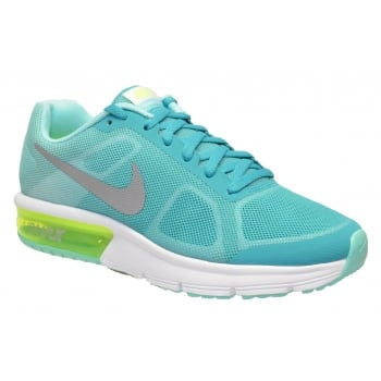 Nike Nike Air Max Sequent (GS) \ CLR JD/MTLLC SLVR-HYPR-TRQ-VLT (N36) Older Boys Trainers