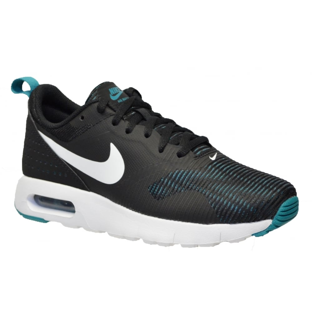 ba0766f635dbc2 Nike Air Max Tavas (GS) Black   White   Rio Teal (N200C) 814443-013 Older  Boys Trainers