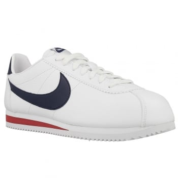 Nike Classic Cortez Leather White / Navy (B19) 749571-146 Mens Trainers