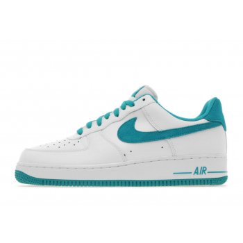 Nike Air Force 1 Lo White / Blue (Z20)  Mens Trainers