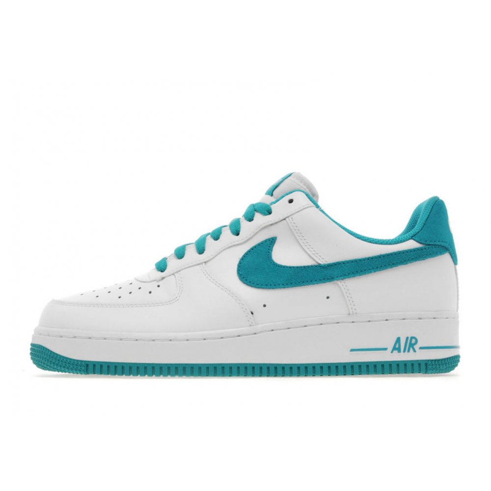 nike nike air force 1 lo white blue z20 mens trainers nike from pure brands uk uk. Black Bedroom Furniture Sets. Home Design Ideas
