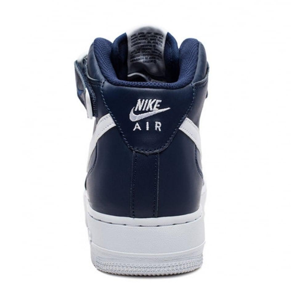 Nike Air Force 1 Mid '07 Midnight Armada 407  Blanco A6 315123 407 Armada 679ee7