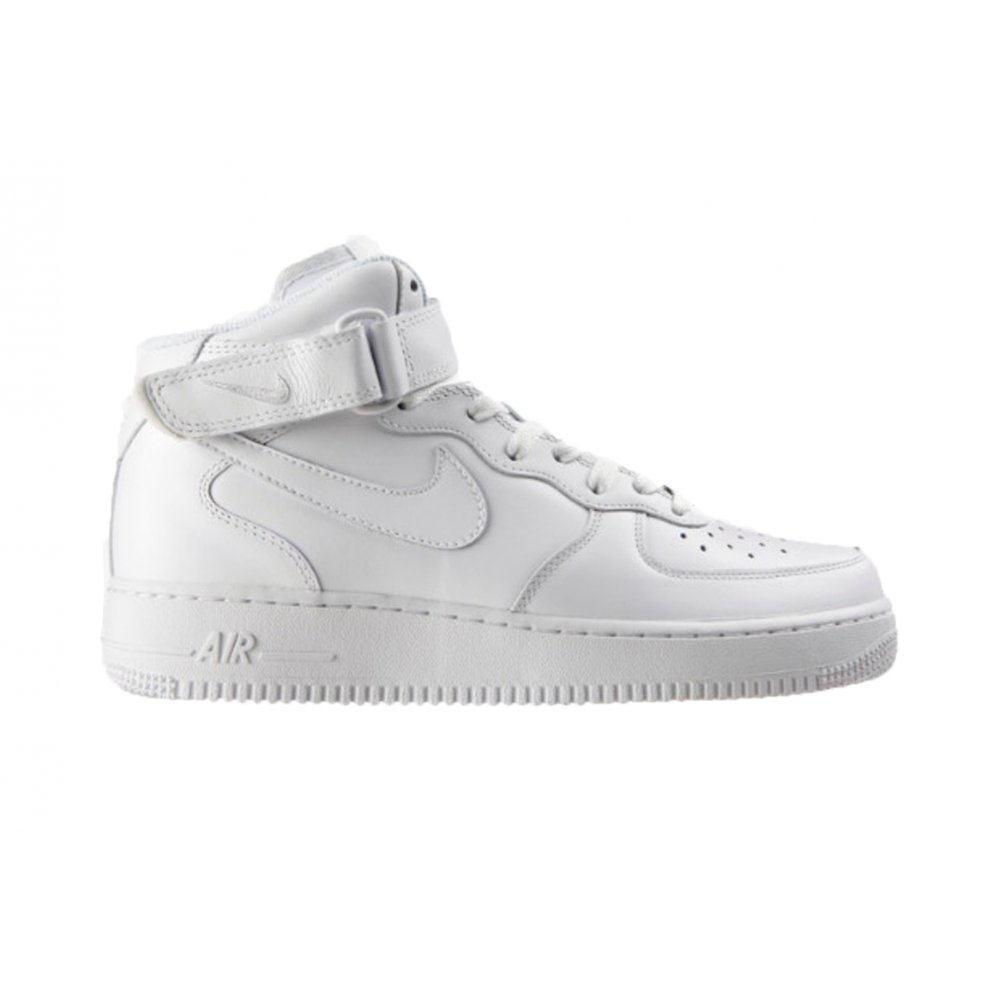 nike nike air force 1 mid 39 07 white white g3 315123. Black Bedroom Furniture Sets. Home Design Ideas
