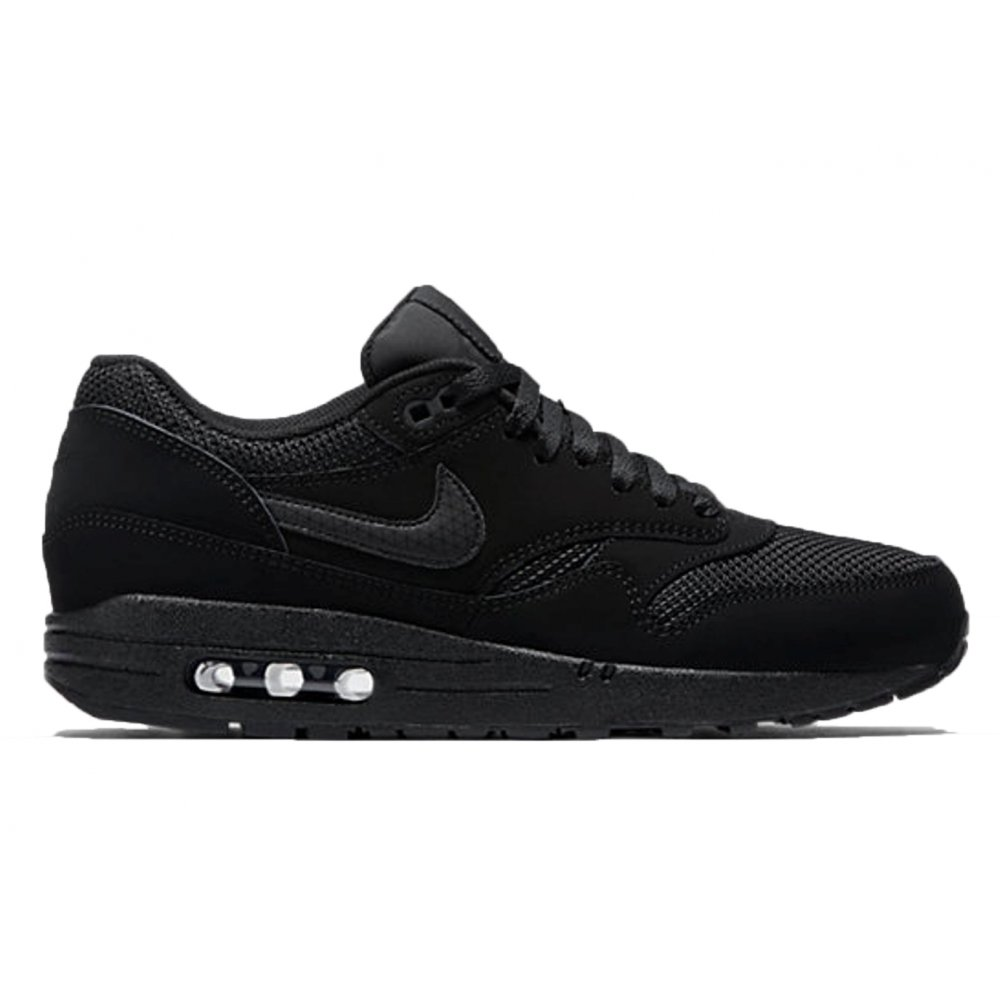 brand new 7cc43 e5aa7 Nike Air Max 1 Essential Black   Black (C5) 537383-025 Mens Trainers