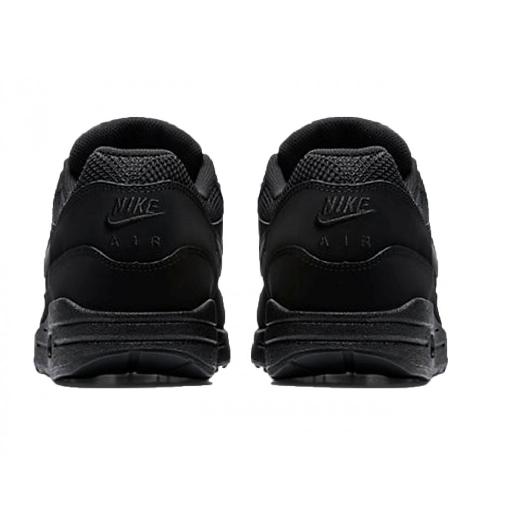 low priced 3495f f2a21 ... Nike Air Max 1 Essential Black   Black (C5) 537383-025 Mens Trainers. ‹