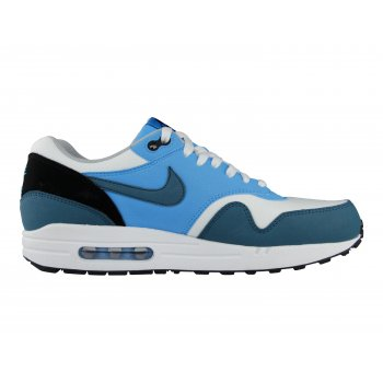 Nike Air Max 1 Essential White/Night Factor/Vivid Blue (Z20) Mens Trainers