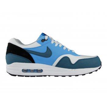 Nike Air Max 1 Essential White/Night Factor/Vivid Blue (Z20) Mens Trainers