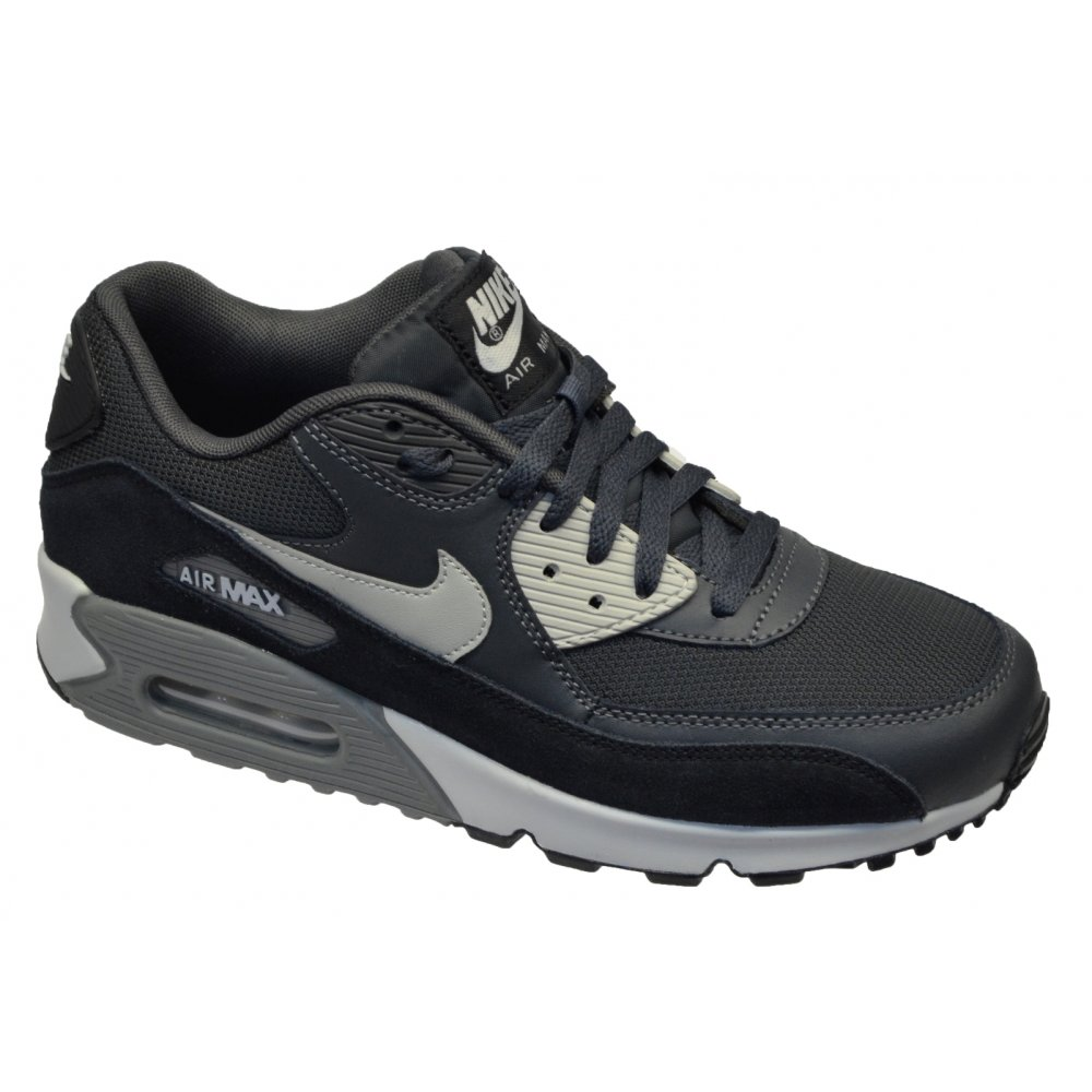 nike air max 90 essential mens trainers black