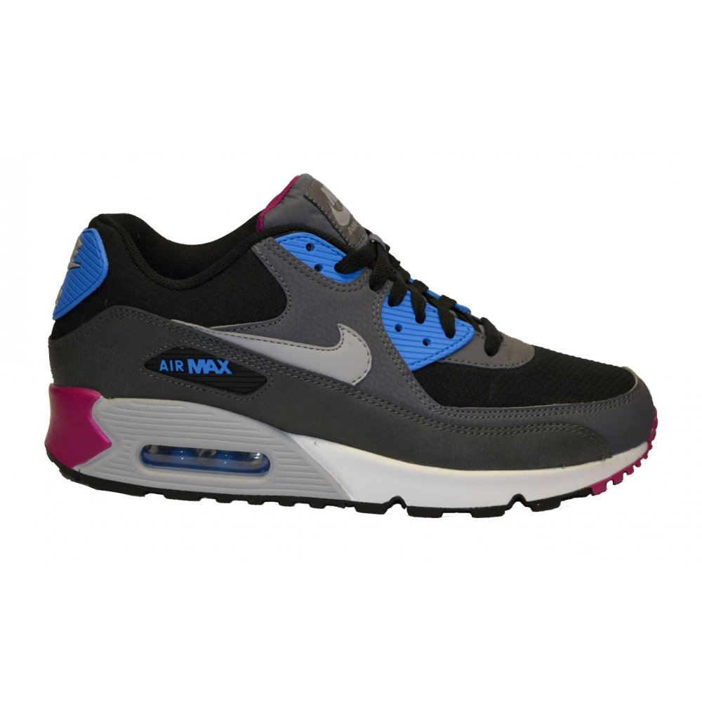 f59da9080c6014 Nike Nike Air Max 90 Essential Black   Grey   White (N68) Mens ...