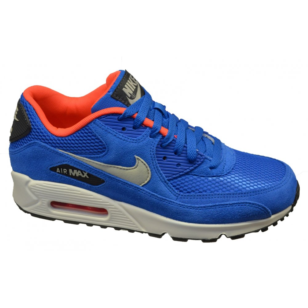 Nike     Nike Air Max 90 Essential Dark Electric Blue  B-8  537384-407Nike Air Max 90 Essential Blue
