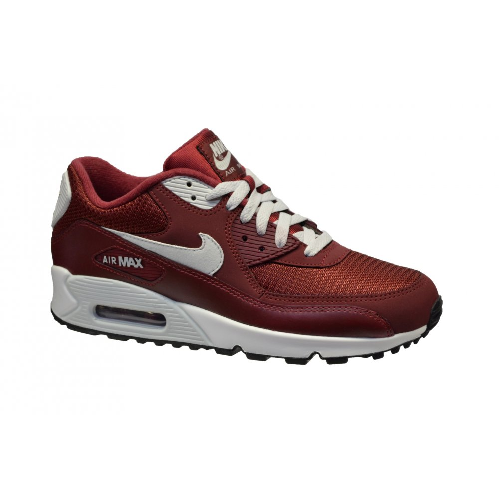 6204dd3bdea9e7 Nike Air Max 90 Essential Team Red   Lt Base Grey-Sail (F8) Mens Trainers