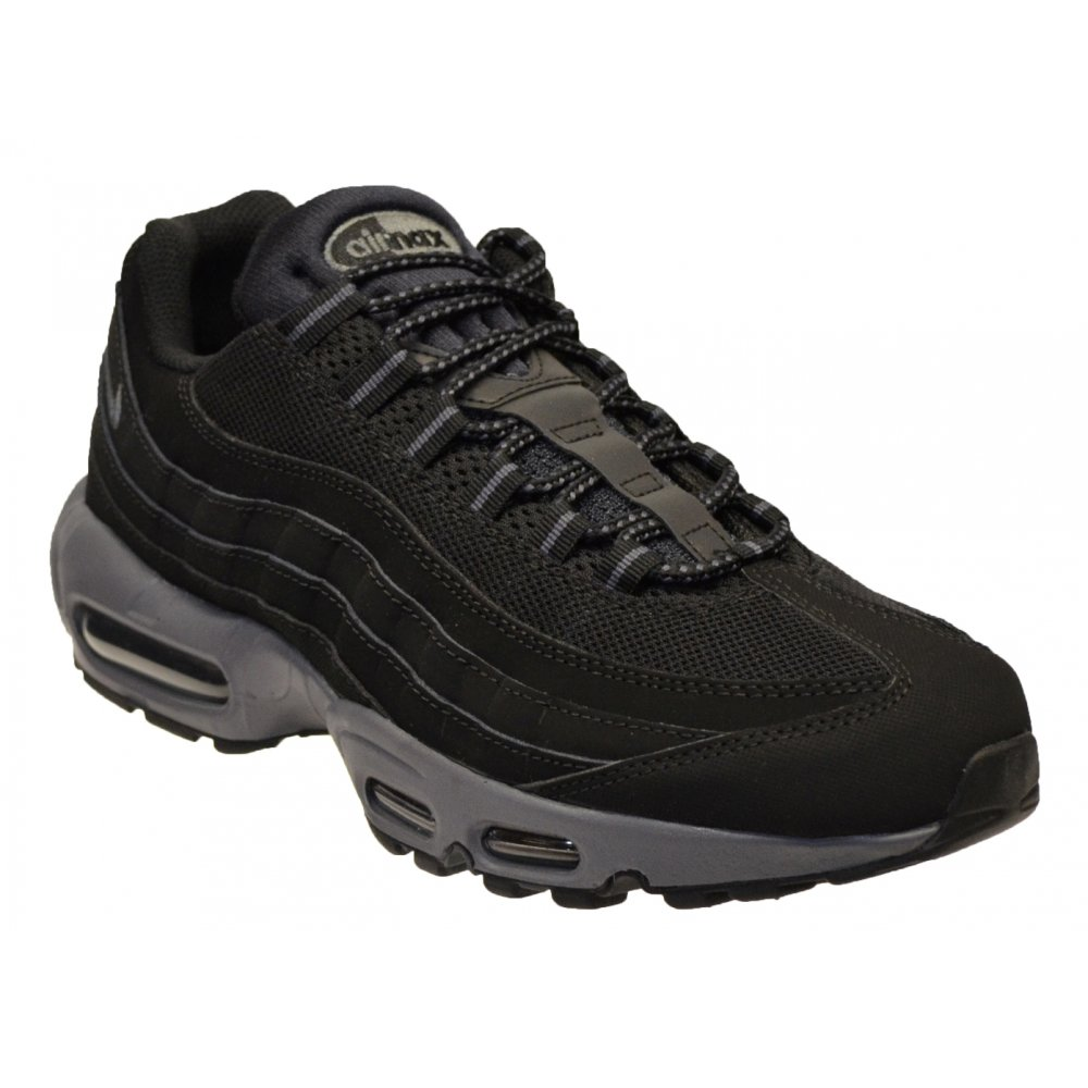 Nike Air Max 95 Black / Dark Grey (B3) 609048-087 Mens Trainers. ‹