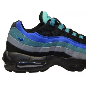 6f7329d647e Nike Nike Air Max 95 Black   Hyper Cobalt (N19) 609048-084 Mens Trainers -  Nike from Pure Brands UK UK