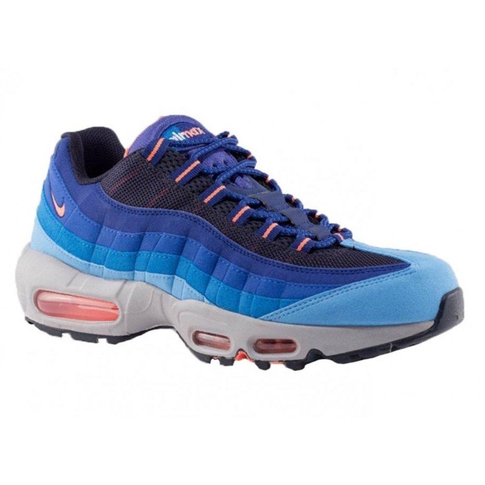 info for 96975 1effd Nike Nike Air Max 95 Unvrsty Blue  Grey  Orange (N25) 609048- ...