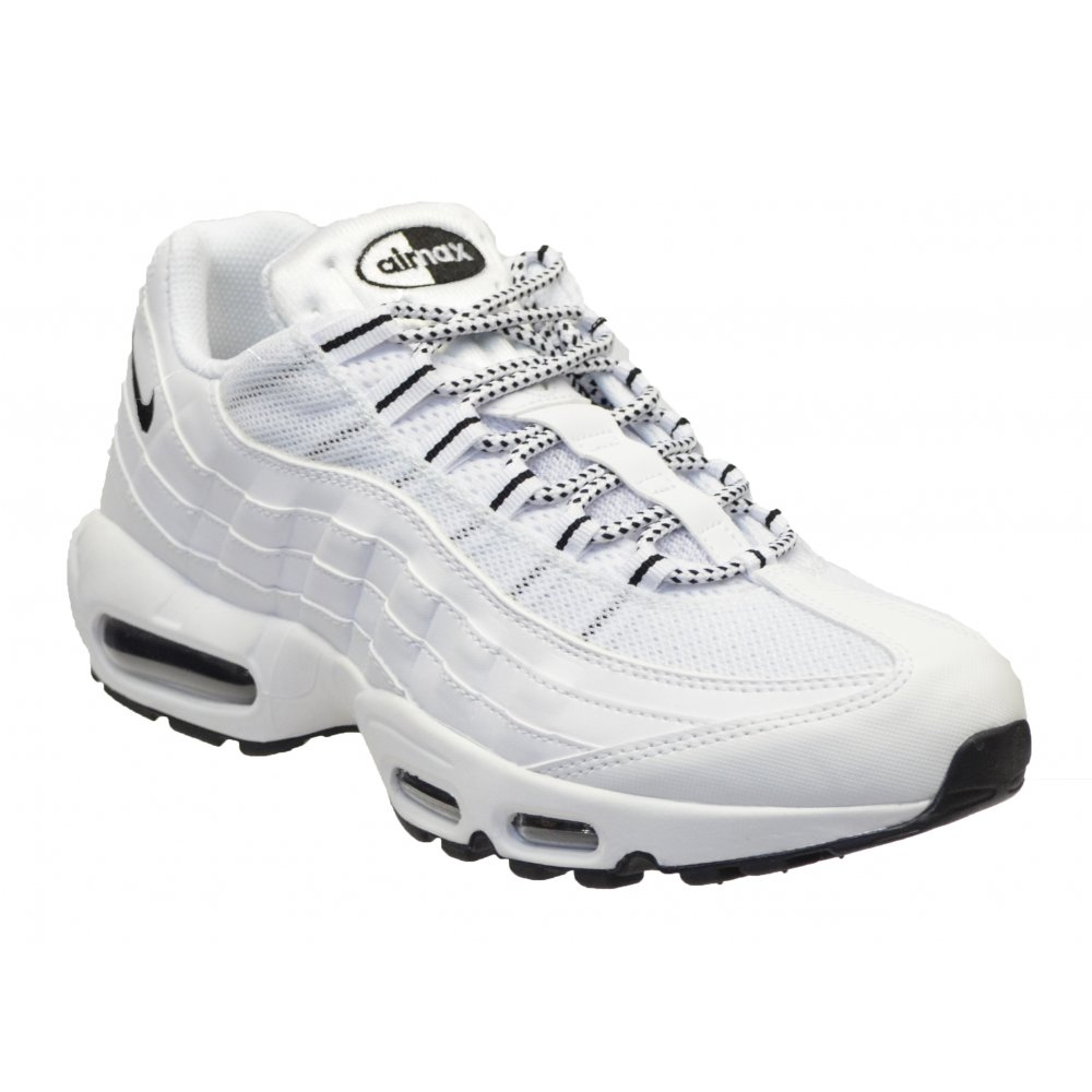 nike air max mens white trainers