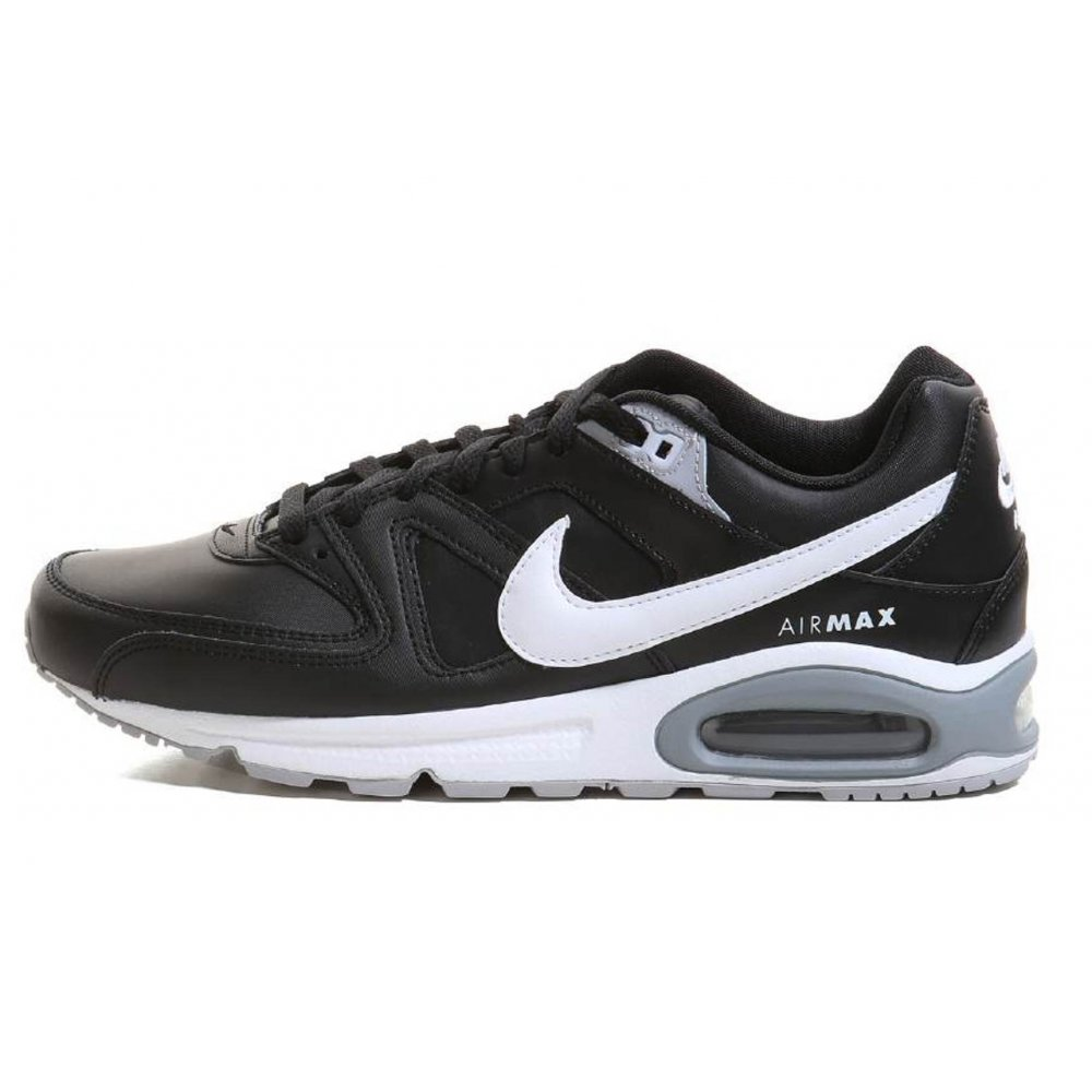 nike nike air max command black white n109 749760 010 mens trainers nike from pure brands. Black Bedroom Furniture Sets. Home Design Ideas