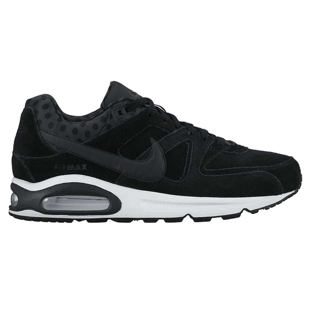 nike nike air max command prm black black white sc7 694862 010 mens trainers nike from. Black Bedroom Furniture Sets. Home Design Ideas