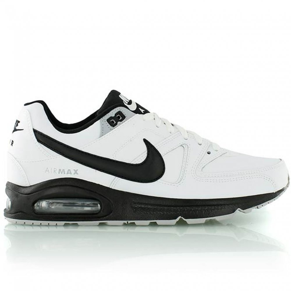 b0c6804f2d39 Nike Nike Air Max Command White   Black (N2) 749760-101 Mens ...