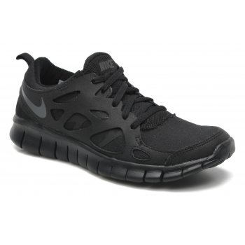 Nike Free Run 2 (Gs) Black / Dark Grey (N23) 443742-023 Older Boys Trainers