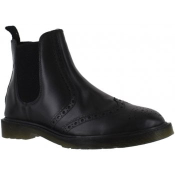 Oaktrak Belper Brogue M12404/13 (N8) Men's Black Leather Boots