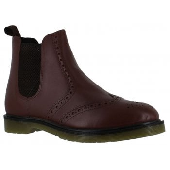 Oaktrak Belper Brogue M12404/15 (N52) Men's Bordo Leather Boots