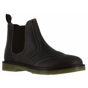 Oaktrak Belper Brogue M12404/16 (A6) Men's Brown Leather Boots