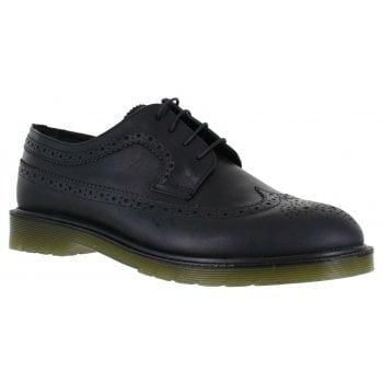 Oaktrak Belvoir Mens M12603/06 (N29) Leather Shoes (Colour - Black)