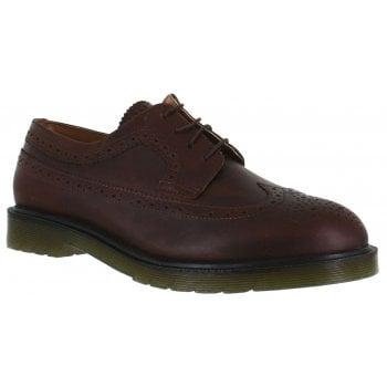 Oaktrak Belvoir Mens M12603/07 (N42) Leather Shoes (Colour - Wood)
