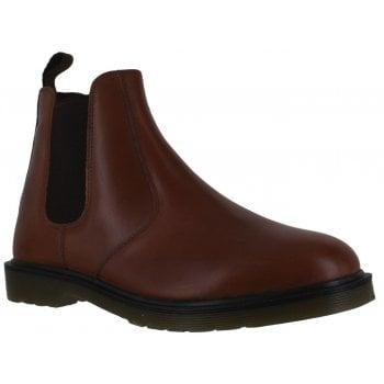 Oaktrak Winterhill M08452/30 (N15) Men's Chestnut Leather Chelsea Boots