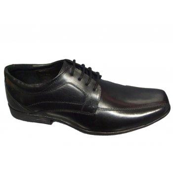 POD Chester Black (N51b) Mens Shoes UK 11.5 / EU 46
