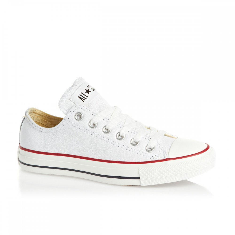 Converse-CT-Ox-White-Textured-Leather-N80-132173C-Unisex-Trainer-All-Sizes