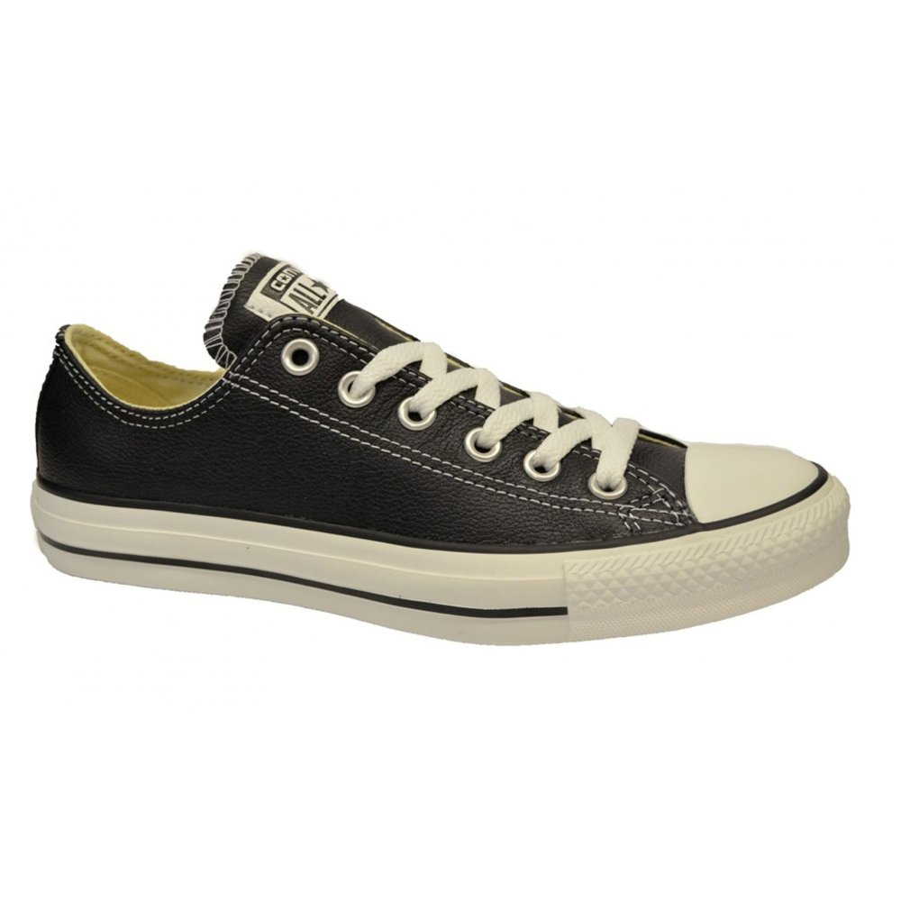 Converse-All-Star-CT-OX-132174C-Black-Leather-N17b-Unisex-Trainers-All-Sizes