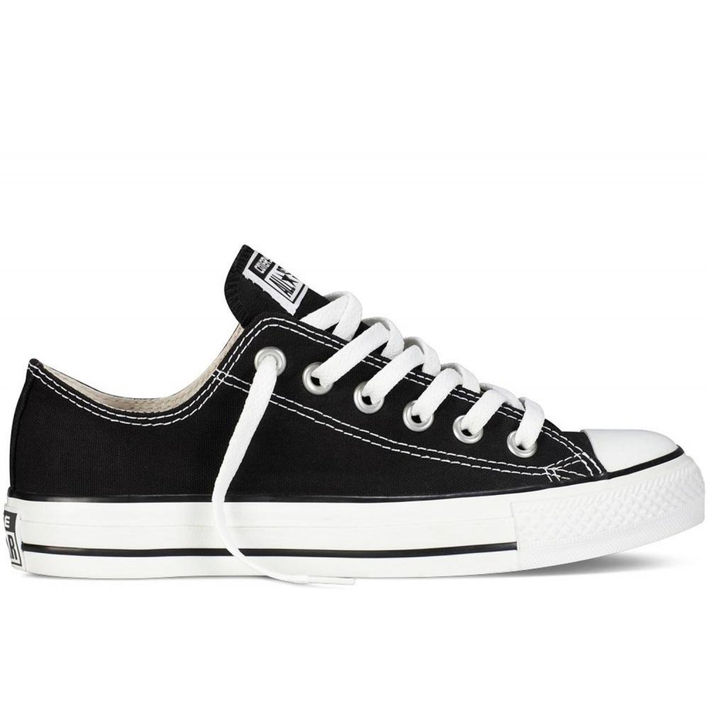 Converse-All-Star-Ox-Black-SC-7-M9166-Unisex-Trainers-All-Sizes